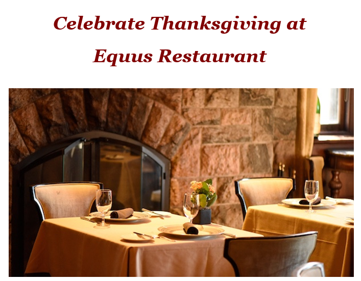 Celebrate Thanksgiving 2018 at Castle Hotel & Spa in Tarrytown, NY