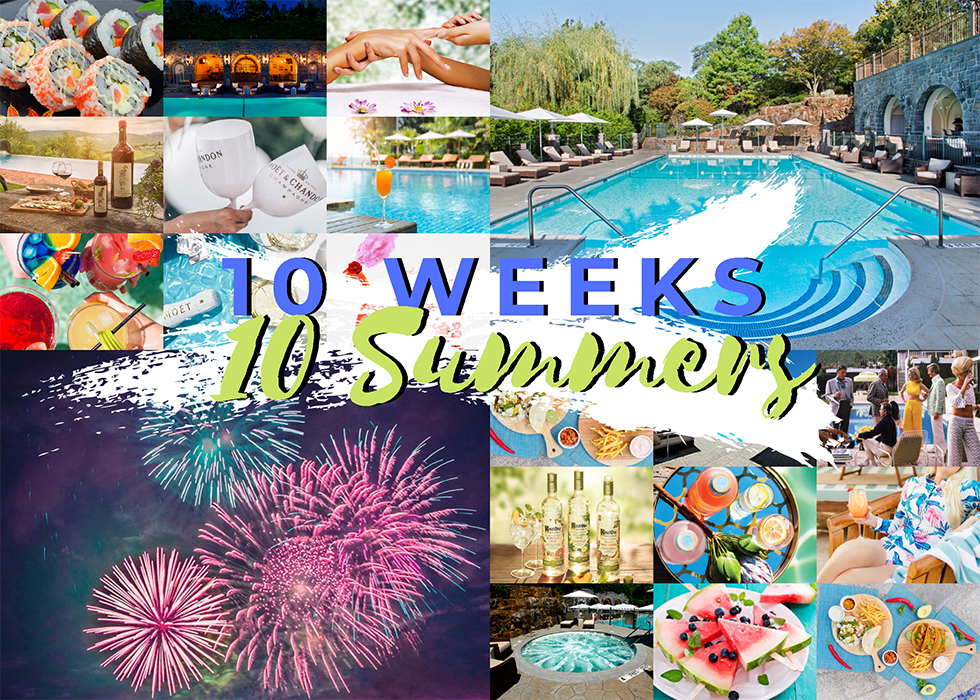10 weeks 10 summers